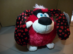 ANIMATED SPINNING DOG FOR VALENTINES DAY PLAYS U SPIN ME ROUND SUPER RARE AND DISCONTINUED