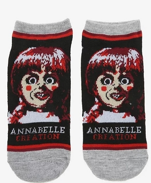ANNABELLE CREATION NO-SHOW SOCKS