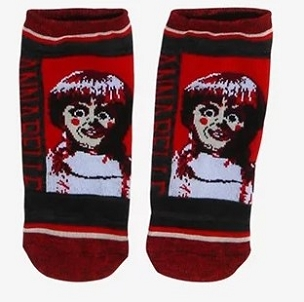 ANNABELLE (THE CONJURING) NO SHOW SOCKS EXCLUSIVE)