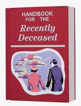 BEETLEJUICE HANDBOOK FOR THE RECENTLY DECEASED MAGNET
