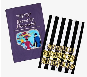 BEETLEJUICE KITCHEN 2 TOWEL SET