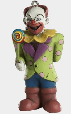 BAD CLOWN ORNAMENT