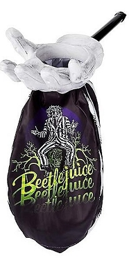 BEETLEJUICE LOOT AND SCOOP TREAT BAG