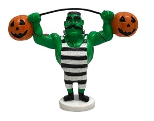 WEIGHTLIFTING FRANKENSTEIN FIGURINE