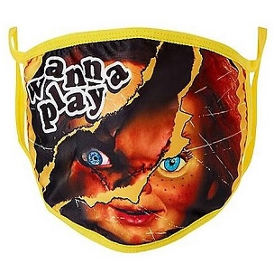 CHUCKY ( CHILD'S PLAY) FACE MASK