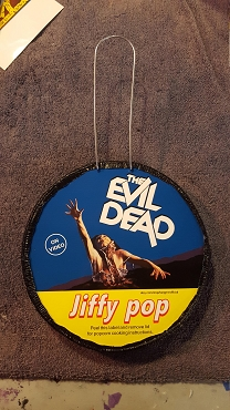 EVIL DEAD ASH JIFFY POP ART DECORATION ( ONLY 2 LEFT!) EXCLUSIVE!