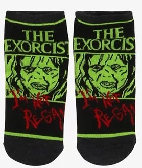 THE EXORCIST ANKLE  NO-SHOW SOCKS (EXCLUSIVE)