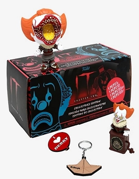 FUNKO PENNYWISE (IT CHAPTER TWO) COLLECTOR'S EDITION MYSTERY BOX HOT TOPIC EXCLUSIVE