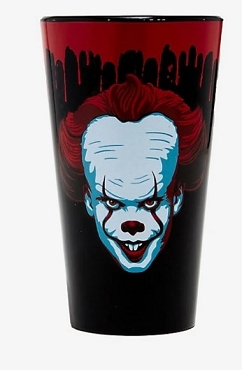 PENNYWISE (IT ) CHAPTER 2 BLOOD DRIP PINT GLASS