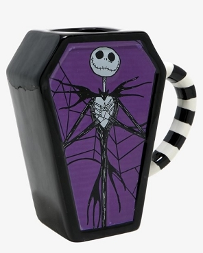 THE NIGHTMARE BEFORE CHRISTMAS JACK COFFIN MUG
