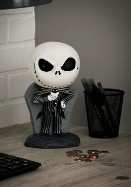 JACK SKELLINGTON NIGHTMARE BEFORE CHRISTMAS BANK