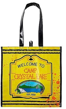 JASON VOORHEES ( FRIDAY THE 13TH) CAMP CRYSTAL LAKE TREAT TOTE BAG