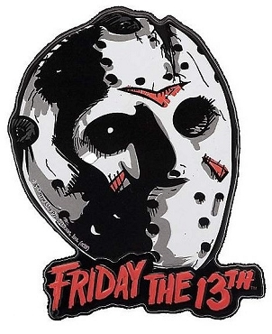 JASON VOORHEES ( FRIDAY THE 13TH) MASK MAGNET