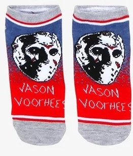JASON VOORHEES NO SHOW SOCKS