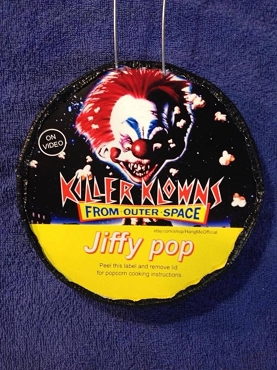 KILLER CLOWNS FROM OUTER SPACE JIFFY POP ART DECORATION ( ONLY 1 LEFT!) EXCLUSIVE!