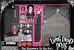 LIVING DEAD DOLL CREEPY STATIONERY VERY RARE AND LIMITED STOCK!!!!