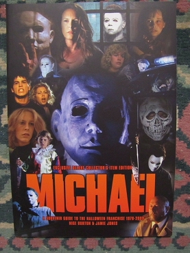 MICHAEL MYERS HALLOWEEN FRANCHISE GUIDE BOOK MAGAZINE