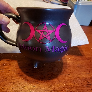 MOON MAGIC CAULDRON MUG