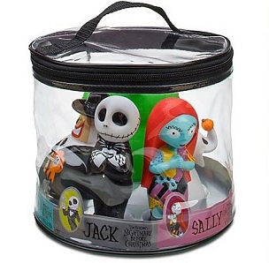 NIGHTMARE BEFORE CHRISTMAS BATH TOY SET