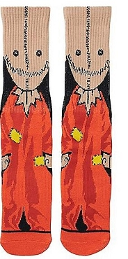 SAM ( TRICK R TREAT) FACE CREW SOCKS