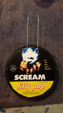 SCREAM GHOSTFACE JIFFY POP ART DECORATION ( ONLY 2 LEFT!) EXCLUSIVE!