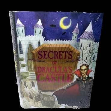 SECRETS OF DRACULA'S CASTLE BOOK AND CREEPY VAMPIRE CASTLE KIT FOR ADULTS AND KIDS