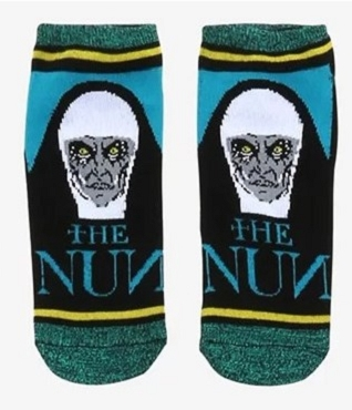 THE NUN (THE CONJURING)  NO-SHOW SOCKS ( EXCLUSIVE)