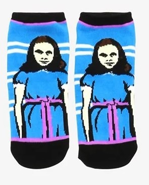 THE SHINING GRADY TWINS  NO-SHOW SOCKS (EXCLUSIVE)
