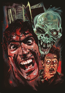 EVIL DEAD MYSTERY BOX (BACK IN STOCK)  ( CHOOSE YOUR SIZE DELUXE OR SUPER DELUXE)