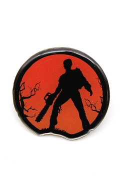 EVIL DEAD SHADOW ASH ENAMEL PIN