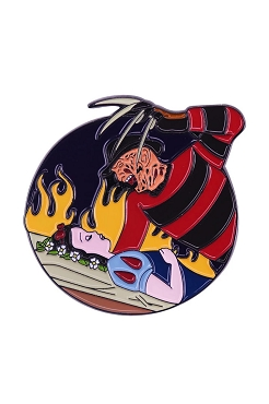 FREDDY KRUEGER NIGHTMARE ON ELM STREET MEETS SNOW WHITE MASH UP PIN