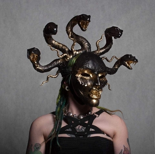 MEDUSA GORGO RITUAL MASK HEADDRESS EXCLUSIVE (ONLY 1 AVAILABLE)