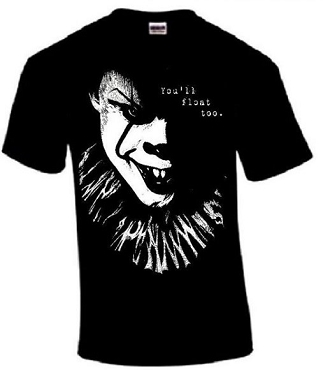 PENNYWISE T SHIRT ONLY 1 MENS XL LEFT!