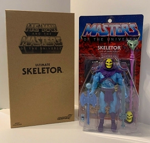 MASTERS OF THE UNIVERSE ULTIMATE SKELETOR 2.0 FILMATION SUPER 7 EXCLUSIVE 7