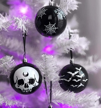 CREEPY CHRISTMAS ORNAMENTS